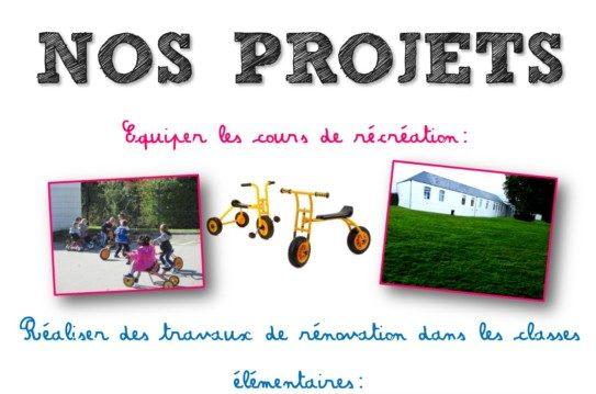 Soutenez nos projets!