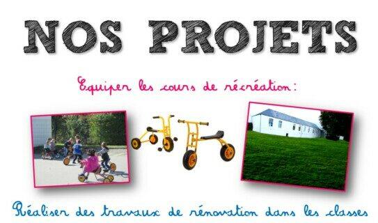 Soutenez nos projets...